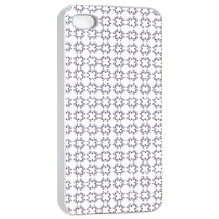 Violence Head On King Purple White Flower Apple Iphone 4/4s Seamless Case (white) by Alisyart