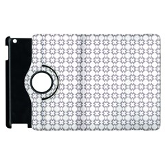 Violence Head On King Purple White Flower Apple Ipad 3/4 Flip 360 Case by Alisyart