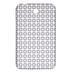 Violence Head On King Purple White Flower Samsung Galaxy Tab 3 (7 ) P3200 Hardshell Case  by Alisyart