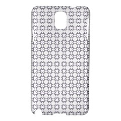 Violence Head On King Purple White Flower Samsung Galaxy Note 3 N9005 Hardshell Case by Alisyart
