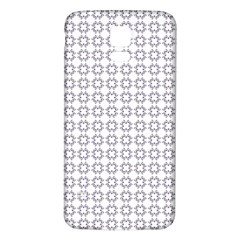 Violence Head On King Purple White Flower Samsung Galaxy S5 Back Case (white)