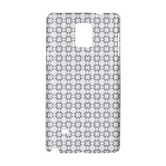 Violence Head On King Purple White Flower Samsung Galaxy Note 4 Hardshell Case