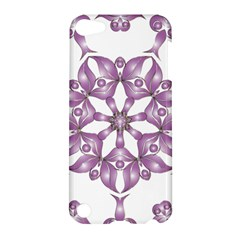 Frame Flower Star Purple Apple Ipod Touch 5 Hardshell Case by Alisyart