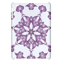 Frame Flower Star Purple Apple Ipad Mini Hardshell Case by Alisyart