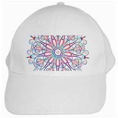 Frame Star Rainbow Love Heart Gold Purple Blue White Cap by Alisyart