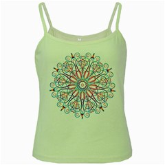 Frame Star Rainbow Love Heart Gold Purple Blue Green Spaghetti Tank by Alisyart