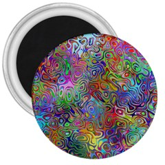 Glass Rainbow Color 3  Magnets