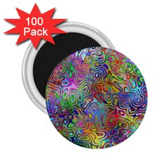 Glass Rainbow Color 2 25  Magnets (100 Pack)  by Alisyart