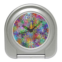 Glass Rainbow Color Travel Alarm Clocks by Alisyart