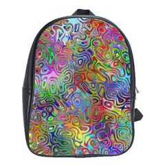 Glass Rainbow Color School Bags(large)  by Alisyart