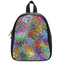 Glass Rainbow Color School Bags (small)  by Alisyart