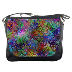 Glass Rainbow Color Messenger Bags by Alisyart