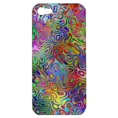 Glass Rainbow Color Apple Iphone 5 Hardshell Case