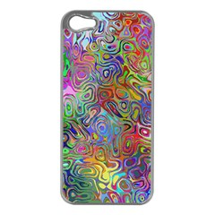 Glass Rainbow Color Apple Iphone 5 Case (silver) by Alisyart