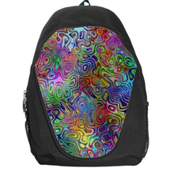 Glass Rainbow Color Backpack Bag by Alisyart