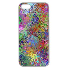 Glass Rainbow Color Apple Seamless Iphone 5 Case (clear) by Alisyart
