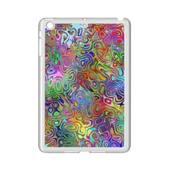 Glass Rainbow Color Ipad Mini 2 Enamel Coated Cases by Alisyart