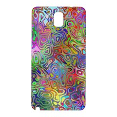 Glass Rainbow Color Samsung Galaxy Note 3 N9005 Hardshell Back Case by Alisyart