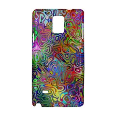 Glass Rainbow Color Samsung Galaxy Note 4 Hardshell Case by Alisyart