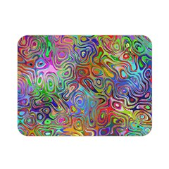 Glass Rainbow Color Double Sided Flano Blanket (mini)