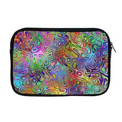 Glass Rainbow Color Apple Macbook Pro 17  Zipper Case by Alisyart