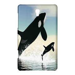 Whale Mum Baby Jump Samsung Galaxy Tab S (8 4 ) Hardshell Case  by Alisyart
