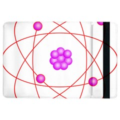 Atom Physical Chemistry Line Red Purple Space Ipad Air 2 Flip by Alisyart