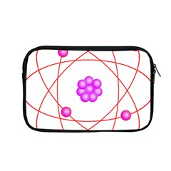 Atom Physical Chemistry Line Red Purple Space Apple Macbook Pro 13  Zipper Case