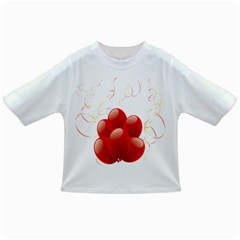 Balloon Partty Red Infant/toddler T Shirts by Alisyart