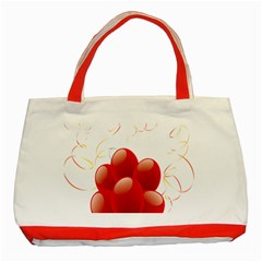 Balloon Partty Red Classic Tote Bag (red)