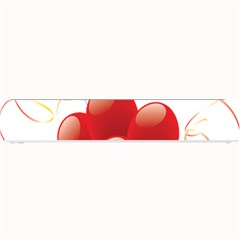Balloon Partty Red Small Bar Mats by Alisyart