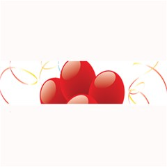 Balloon Partty Red Large Bar Mats by Alisyart