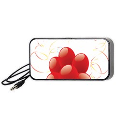 Balloon Partty Red Portable Speaker (black)