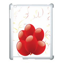 Balloon Partty Red Apple Ipad 3/4 Case (white)