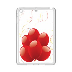 Balloon Partty Red Ipad Mini 2 Enamel Coated Cases