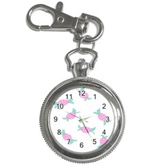 Candy Pink Blue Sweet Key Chain Watches by Alisyart