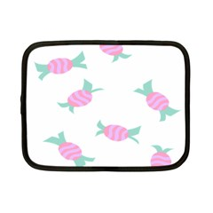 Candy Pink Blue Sweet Netbook Case (small)  by Alisyart