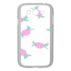 Candy Pink Blue Sweet Samsung Galaxy Grand Duos I9082 Case (white) by Alisyart