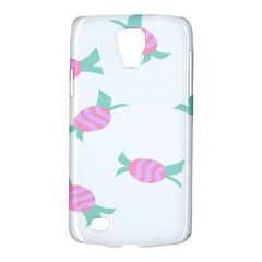 Candy Pink Blue Sweet Galaxy S4 Active by Alisyart
