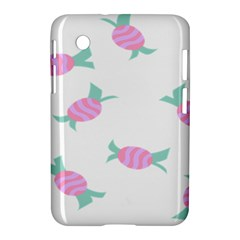 Candy Pink Blue Sweet Samsung Galaxy Tab 2 (7 ) P3100 Hardshell Case  by Alisyart