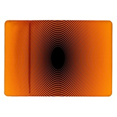 Abstract Circle Hole Black Orange Line Samsung Galaxy Tab 10 1  P7500 Flip Case by Alisyart