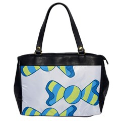 Candy Yellow Blue Office Handbags
