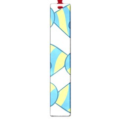 Candy Yellow Blue Large Book Marks by Alisyart