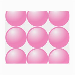 Circle Pink Small Glasses Cloth (2 Side)