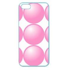 Circle Pink Apple Seamless Iphone 5 Case (color) by Alisyart