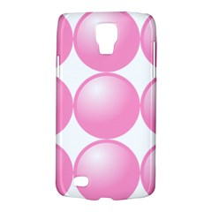 Circle Pink Galaxy S4 Active by Alisyart