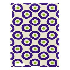 Circle Purple Green White Apple Ipad 3/4 Hardshell Case by Alisyart