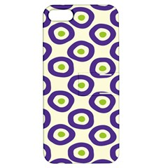 Circle Purple Green White Apple Iphone 5 Hardshell Case With Stand