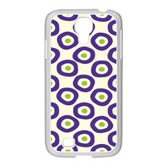 Circle Purple Green White Samsung Galaxy S4 I9500/ I9505 Case (white) by Alisyart