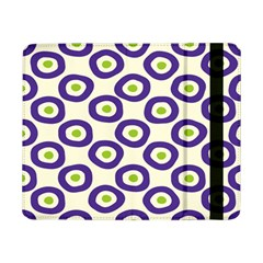 Circle Purple Green White Samsung Galaxy Tab Pro 8 4  Flip Case by Alisyart